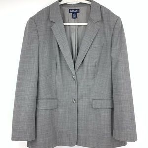 Lands End women's blazer jacket career office 14